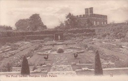England London The Pond Garden Hampton Court Palace