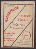 Italian Dictionary - Kozmopolita - NDH Period - Dizionari