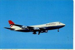 AVIATION - BRITISH AIRWAYS BOEING 747 - CHARLES SKILTON  299  Ap201 - 1946-....: Moderne