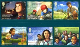 GB 2007Centenary Of Scouting (Europa)  Set Of 6  MNH Sg 2758-63 Mi 2552-57 Sc 2492-97 Iv 2916-21 - 1952-.... (Elizabeth II)