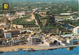 España--Alicante--1979--Denia--Vista Aerea  Y Castillo--a, Argenteuil, Francia - Castillos