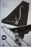 Avion / Airplane / Sabena / Boeing B 707 / Sabena Crew - Air Hostess / Stewardess / Hôtesse De L'air - 1946-....: Ere Moderne