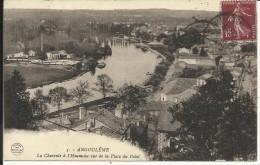 ANGOULEME , La Charente à L' Houmeau Vue De La Place Du Palet - Angouleme