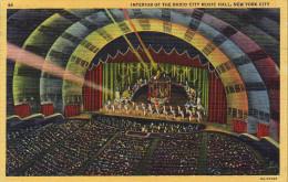 Interior Of The Radio City Music Hall
