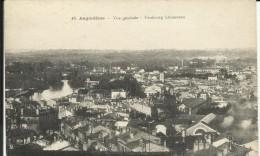 ANGOULEME , Vue Générale ,  Faubourg De Lhoumeau - Angouleme