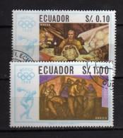 Ecuador °- 1967 -  Prélude Olimpiade Mexico - Yvert 775-76    . Used.  Vedi Descrizione - Ecuador