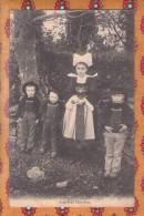 1 Cpa Enfant De Pont Aven - Pont Aven
