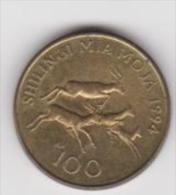 TANZANIA   100 SHILINGI  ANNO 1994 - Tanzania