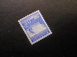 CH ZNr.200 - 30C**MNH - 1934 - Z CHF 100.00 - Switzerland