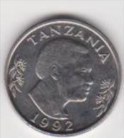 TANZANIA   1 SHILINGI  ANNO 1992 - Tanzania