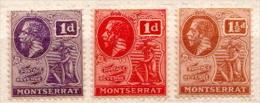 Montserrat MH Stamps - Montserrat