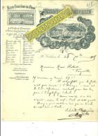62 - Pas-de-calais - CORBEHEM - Facture UNION VINICOLE ALGERIENNE – 1905 - REF 216 - 1900 – 1949