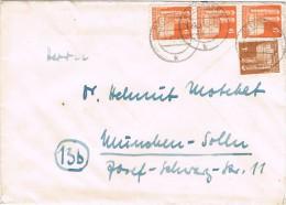 15508. Carta GOTTINGEN (Alemania Zona Ocupation Anglo Americain) - Bizone