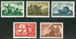 HUNGARY 1941 HISTORY Famous People BATTLE WARIORS - Fine Set MNH - Nuovi