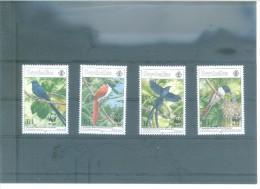 WWF-SEYCHELLES 298/301(4V)  (1966)   MICHEL - Seychelles (1976-...)