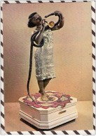 T848 MUSEE MONACO POUPEES LA CHARMEUSE DE SERPENT DECAMPS PARIS 1890 AUTOMATE 2 SCANS - Musées