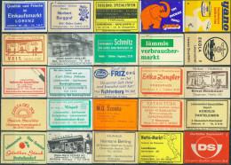 25 Alte Zündholzschachteletiketten Aus Deutschland #33 - Luciferdozen - Etiketten