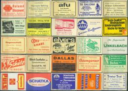 25 Alte Zündholzschachteletiketten Aus Deutschland #34 - Luciferdozen - Etiketten