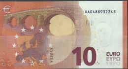 10  EURO DRAGHI  GERMANY  XA X001 B5   UNC - EURO