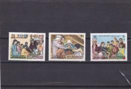 Jordania Nº 760 Al 762 - Giordania