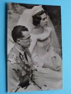 Leurs Majestés Le Roi Baudouin Et La Reine Fabiola  / Anno 1960 ( Zie Foto Voor Details ) !! - Royal Families
