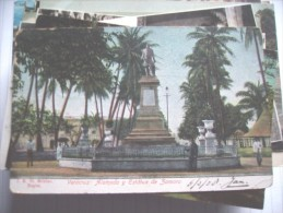 Mexico Veracruz Zamora Statue - Mexico