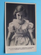 S.A.R. La Princesse Joséphine-Charlotte ( Belgique / België ) TBC / Anno 19?? ( Zie Foto Voor Details ) !! - Royal Families