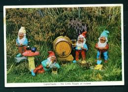 IRELAND  -  Leprechauns  Unused Vintage Postcard As Scan - Other