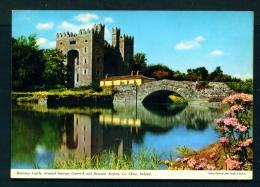 IRELAND  -  Bunratty Castle  Unused Vintage Postcard As Scan - Clare