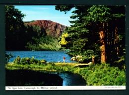 IRELAND  -  Glendalough  The Upper Lake  Unused Vintage Postcard As Scan - Wicklow