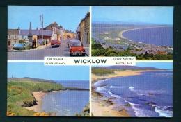IRELAND  -  Wicklow  Multi View  Unused Vintage Postcard As Scan - Wicklow
