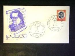 FERRUCCIO BUSONI -F.G. LOTTO N°465 - Cartoline