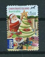 2012 Christmas Island $1.60 Kerst,christmas,weihnachten,noël Used/gebruikt/oblitere - Christmaseiland