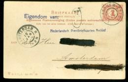 POSTKAART Uit 1904 * AFBEELDING HEMELSCHEBERG OOSTERBEEK * Gelopen Van ARNHEM-ZEIST Naar AMSTERDAM (10.008L) - Period 1891-1948 (Wilhelmina)