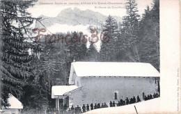 (38) Chasseurs Alpins En Marche D'Hiver à La Grande Chartreuse Notre Dame De Casalibus - 2 SCANS - Sonstige Gemeinden