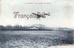 Aviation - Atterrissage D'un Blériot - 2 SCANS - Aviation