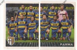 FIGURINE N° 277-278 PANINI 2003 SQUADRA DEL PARMA - - Panini