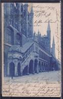 Germany1900:LübeckerRathaus On Card From Reinfeld To Segeberg - 1857-1916 Empire