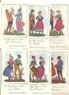 """11 Images """"Les Vieilles Provinces De France"""" FARINES  JAMMET - Publicité"""