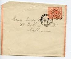 Australia Victoria Postal Stationery Newspaper Wrapper Used 1893 Wycheproof 1032 Duplex Cancel (E826) - 1850-1912 Victoria