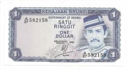 Brunei 1 Dollar 1983 UNC - Brunei