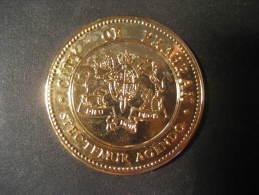 City Of PRAHRAN Spectemur Agendo Victoria 150 Medal AUSTRALIA - Australia