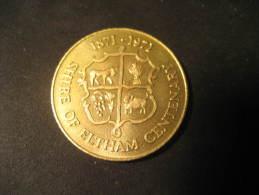 SHIRE OF ELTHAM 1971 Centenary Medal AUSTRALIA - Australie
