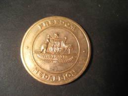 Freedom Medallion Remembers 1945 1995 WWII Ww2 Medal AUSTRALIA - Australie