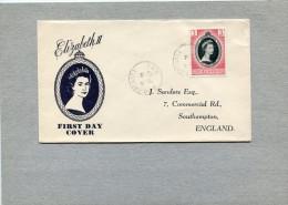 GRENADA FDC 1953 CORONATION ELIZABETH II. - Grenada (1974-...)