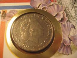 KM # 191 Juliana 2 1/2 C + Fdc Cover 1980 Coin Netherlands Holland - 1948-1980 : Juliana