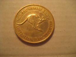 1994 Commonwealth Games Victoria Canada Team Supporter Australia Sunday Herald Commemorative Medal - Australia