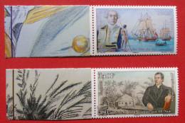 Decouvertes Des Iles Du Roi Georges 1765 Et 180 Ans De La Bible Traduite Par H.Nott - Polynésie Française