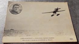Paris - Deauville - Concours D'avions Marins - Arrivée De Levasseur Sur Nieuport - Aerodrome