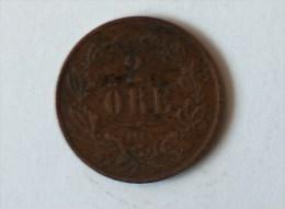SUEDE 2 Ore 1862 - Suède
